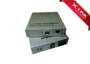 China Remote Managed Fiber Optic Converter , Media Converter Fiber Optic Low Power Consumption / Low Heat on sale