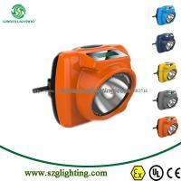 GL6-C(B) NEW DESIGN: IP68,1.67W,10000lux,5.2Ah,LED Digital Cordless Mining Cap Lamp Manufacturer
