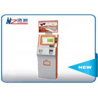 Coin counting kiosk with cash acceptor all in one optional POS terminal