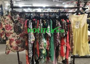 China Clean High Quality Second Hand Clothes ,  Popular Used Girls Clothes Silk Blouse on sale