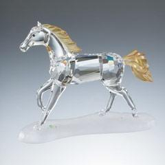 China Cavalos animais de cristal on sale