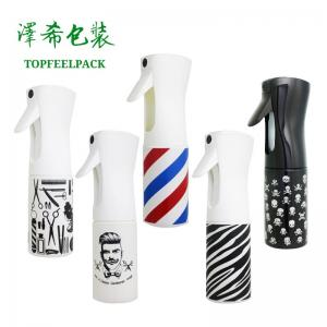 China Plastic Trigger Cosmetic Spray Bottle 300ml 200ml Salon Water Continuous Container on sale