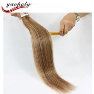 China Alibaba Express Hot Sale Wholesale Waterproof tape hair extensions stitched european remy hair piano color 8A Brazilian on sale