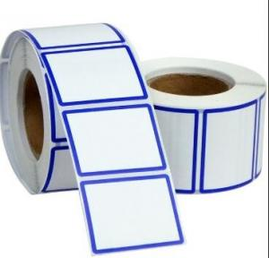 China Thermal Adhesive Waterproof Shipping Labels , Self Adhesive Mailing Address Labels on sale
