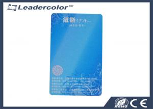 China Tarjeta de crédito reescribible de la tira magnética del RFID con capa sensible al calor on sale