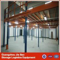 China Powder Coated metal steel Mezzanine Racking System Boltless / Rivet Shelving on sale