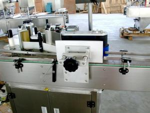China Round / One Side Bottle Automatic Labeling Machine  High Flexibility on sale