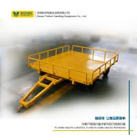 custom 1-200 ton heavy duty industrial trailer towed by forklift freeturningtrackless transfer trailer
