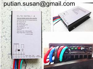 China solar light controller dropping Load's power when battery is lower than 12.5V/25V on sale