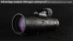 China 10x50 Waterproof Monocular Smartphone Telescope / Adabter HD Binoculars on sale