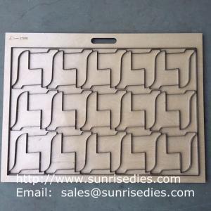 Package box steel cutting dies maker China, customized box steel die