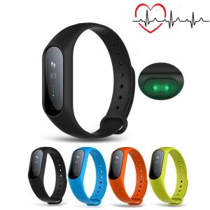 China Low Power Consumption Smart Bluetooth Activity Bracelet 0.87 Inch Button / APP Control on sale