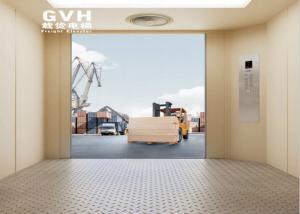 Quality Industrial freight elevator 1600kg ~ 3000kg Capacity Standard or Optional Shaft for sale