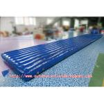 China Air Floor Gymnastics Inflatable Tumble Track 0.55mm PVC For Outdoor Game wholesale