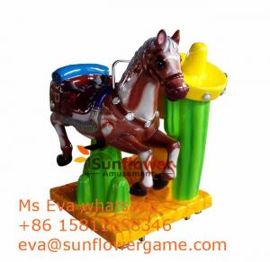 China Best Arcade Game Machine Supplier Europe Coin Operated Pony Rides For Sale on sale