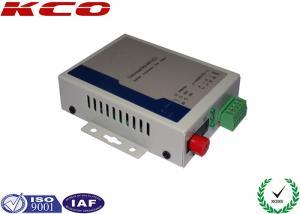 China RS232 Fiber Optic Modem , RS422 RS485 Fiber Optic Converter FC UPC on sale