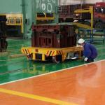 Injection Mould Battery Transfer Cart 0 - 20m / Min Running Speed Long Warranty