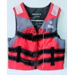 ポリエステルYAMAHA水スキー方法救命胴衣の赤く黄色い青
