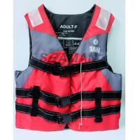 Nylon Polyester Red / Grey YAMAHA Life Jacket Water Sport Foam Life Vest