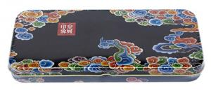 China Custom Pencil Tin Box With CMYK Printing , Colorful Metal Pencil Case on sale