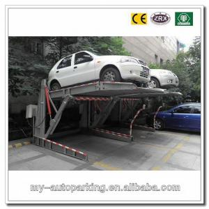 Quality Ce Certificates Mini Tilting Hydraulic Double Car Parking System Platform For