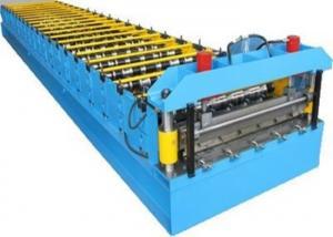 China 4kw Aluzinc Roofing Sheet Making Machine 6-8m/Min Speed ISO9001 Standard on sale