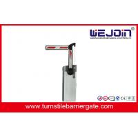 Bus Station Rubber Vehicle Automation Barrier Gate With Cutting Edge