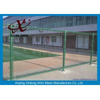 China Farm Equipment Galvanized Steel Chain Link Fence 8 Foot Diamond Hole Shape on sale