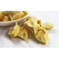 China Long Term backpacking freeze dried food Pineapple Slices Fruit Snacks on sale