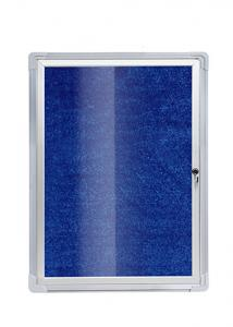 China 3x4 Lockable Notice Board For Wall Hanging Galvanized Steel Aluminium Alloy on sale