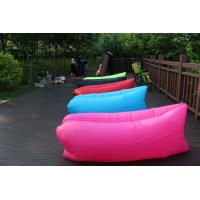 Fast filling waterproof Inflatable Air Sofa hangout seat type bean bag