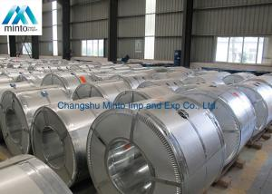 China Explosion Proof Iron Steel Galvalume Coil Galvanized Plain Sheet Mini Spangle on sale