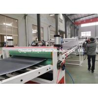 China Custom 350Kg/H 6m Length Wpc Pvc Foam Board Machine on sale