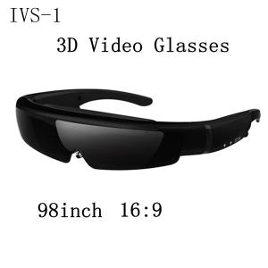 China 98inch virtual screen 3d video glasses 16:9 wide screen on sale