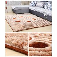 China SHIMAX 5D Modern Polyester Handmade Shaggy Carpet for Living Room New Design on sale