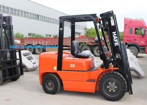 China High Safety Operation Diesel Forklift Truck 3T With Long Fork And Fork Extension on sale