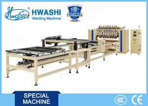 China HWASHI Multiple Head Automatic Cable Tray Steel Wire Mesh Welding Machine on sale