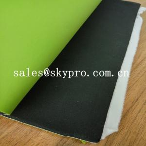 China Double Sided Coated Nylon Polyester Insulation Neoprene Fabric Roll Chemical Resistant on sale