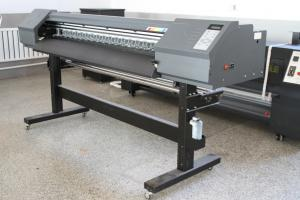 China High Speed 64'' Eco Solvent Inkjet Printer , 2880 Dip Solvent Based Printer on sale