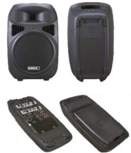 China 240W 10'' Woofer 4 Channel Powered Active Portable PA Speakers for Meetings on sale