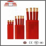 Cable électrique et fils plats flexibles de conducteur de cuivre en caoutchouc de Sillicone 0,6/1KV, 6/10KV