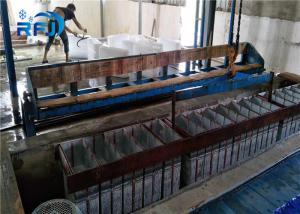 China 3 Ton Salt Water Crushed Ice Maker Machine , Durable Flake Ice Maker 1 Year Warranty on sale