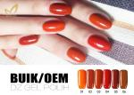 No Chemicals UV LED Gel Nail Polish Soak Off Color Gel For Nail Manicure