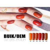 No Chemicals UV LED Gel Nail Polish Soak Off Color Gel For Nail Manicure