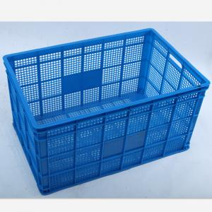 China Offer Fruit Grid Plastic Crate --Stackable Vented Plastic Crate, Egg Crate on sale
