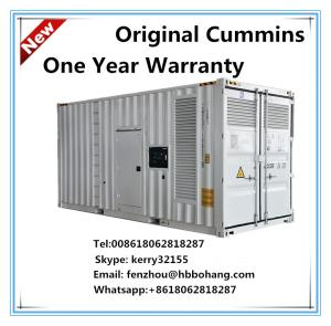 China 220V 1000KVA container diesel generator set on sale