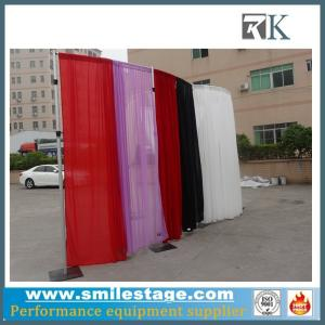 China Ceiling drape portable pipe and drape kits for hall decorations on sale