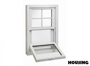 China Electrophoresis Aluminum Hung Window With Laminated Glass on sale