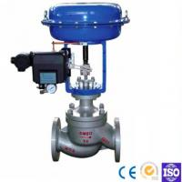 Straight Through Pneumatic Diaphragm Double Seat Casting Ball Type Control Valve
