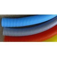 China Plastic Polyethylene Electrical Conduit Corrugated Flexible Tubing For Cable Wire Protection on sale